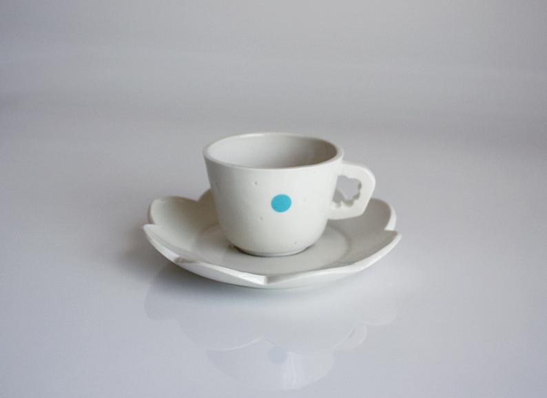 Piccolo mug with plate